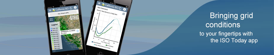 Bringing grid conditions to your fingertips with the ISO Today app
